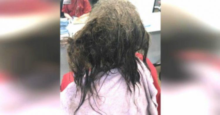 She walked into the salon with dirty matted hair the for 16 image the family salon