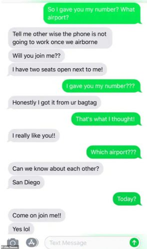 A Stranger Started Sending Her Racy Text Messages Then